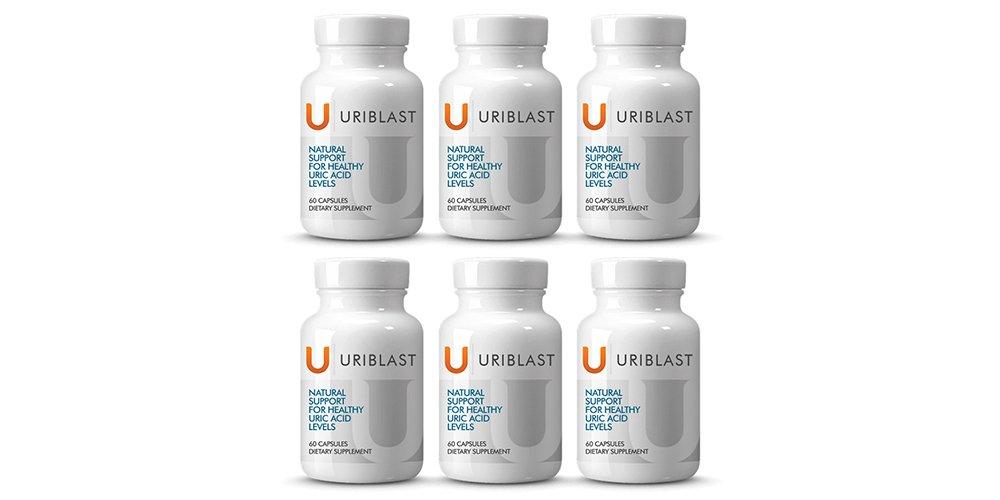 Uriblast 6 Pack- Uric Acid Support (6 pack)