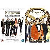 Kingsman 1-2 Complete DVD Collection : Kingsman The Secret Service / Kingsman The Golden Circle