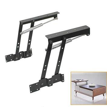 1 par de bisagras hidráulicas para elevar la altura de los muebles ...