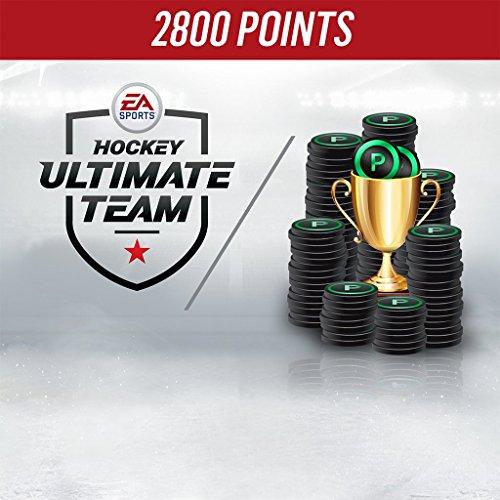 NHL 18 2800 HUT Points Pack - PS4 [Digital - Code Hut