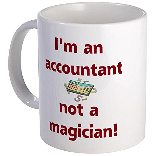 CafePress Accountant Magic Unique Coffee