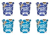 Arctic Zero Chocolate Chunk, Peanut Butter and Cookies Bakery and Dessert Gifts, 16 Fluid Ounce (pack Of 6)