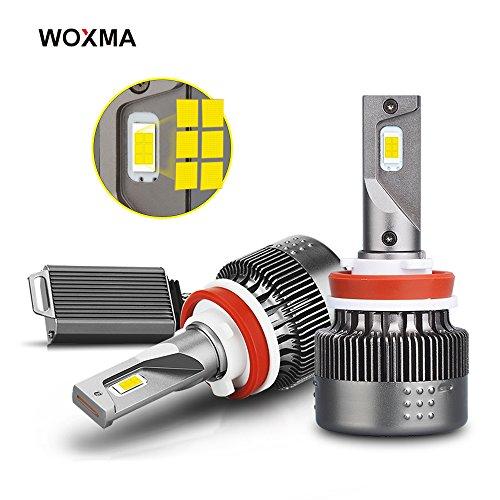 Bulb No Heater Light Fan (H11/H8/H9 LED Headlight Bulbs Conversion Kit, Advanced Flip Chips/Adjustable Beam-70W 8000LM 6500K-Hi/Lo Beam/Fog Light Bulbs-1 Year Warranty)