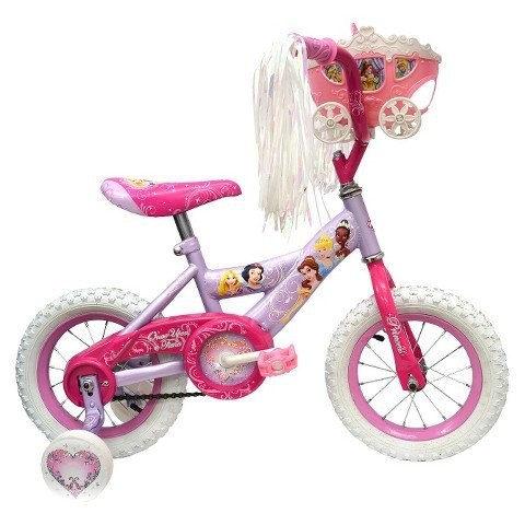 "Huffy Disney Princess Bike 12"" - Pink/Purple"