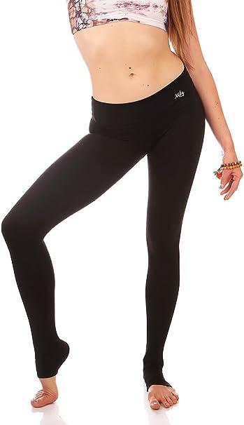 Amazon.com: Mika Yoga Wear Kaya Legging ~ Mid Rise ~ Soft ...