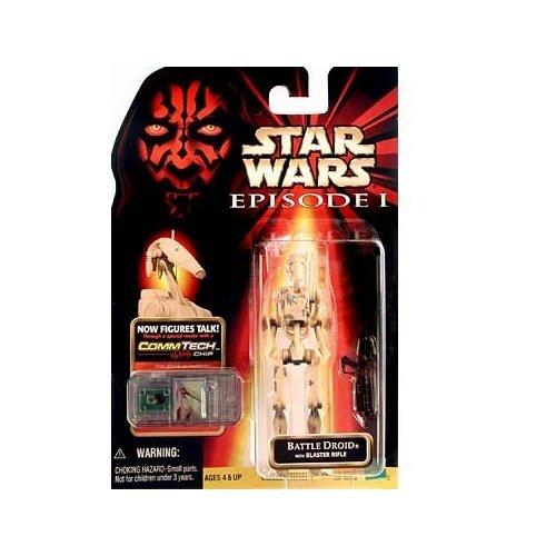 Star Wars: Episode 1 Battle Droid (Clean) Action