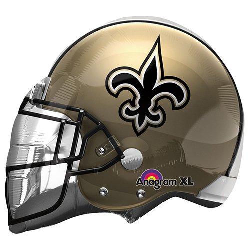 - Anagram 26293 NFL New Orleans Saints Football Helmet Foil Balloon, 21