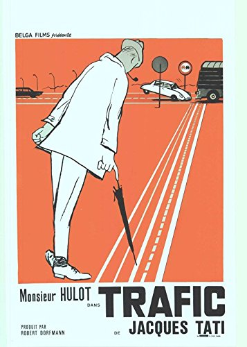 Traffic Poster Belgian Jacques Tati Maria Kimberly Marcel Fraval