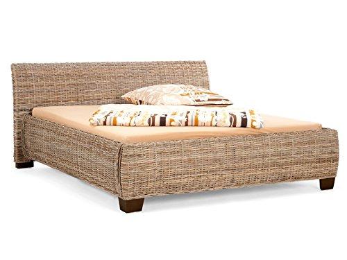 Bett Barika 120x200 Kubu Grey Komfort