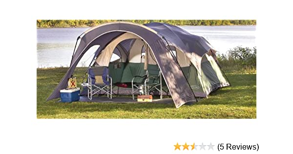 Amazon.com  NorthPole 2 - room Dome Tent Gray / Green / Off - white  Sports u0026 Outdoors  sc 1 st  Amazon.com & Amazon.com : NorthPole 2 - room Dome Tent Gray / Green / Off ...