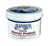 lexan polish - Seapower SMPO-8 Marine Metal Polish and Scratch Remover - 8 oz.