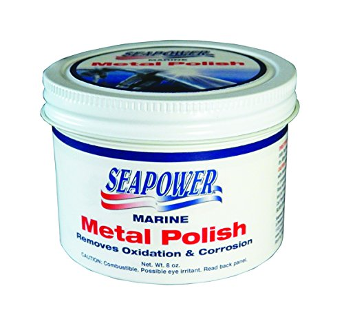 (Seapower SMPO-8 Marine Metal Polish and Scratch Remover - 8 oz.)