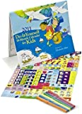 Do-It-Yourself 16-Month Scenes to Color Art Interactive Activity Wall Calendar 2011 for Kids with 6 Markers and 198 stickers