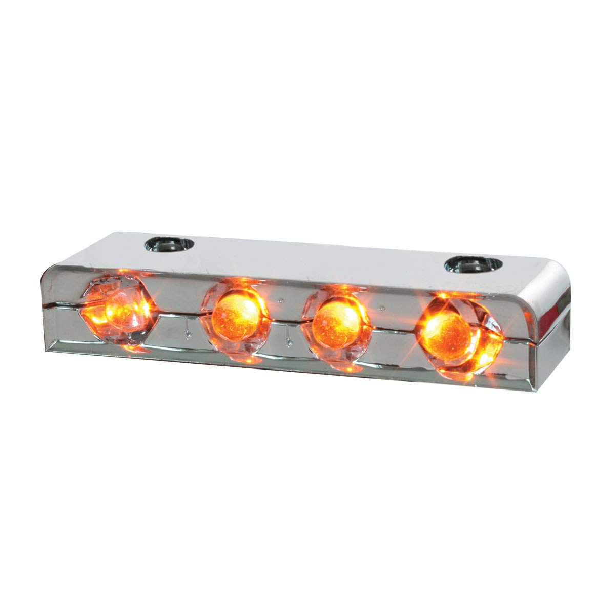 Amber 4-LED Auxiliary GG Grand General 77100 Light