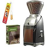 Baratza 586 Virtuoso Coffee Grinder + 3-pack 35G Grindz Coffee Grinder Cleaner + Coffee Grinder Dusting Brush