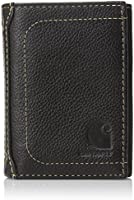 Carhartt Men's Trifold Wallet,Black,One Size