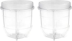 Joyparts Replacement Parts Cups Accessory Compatible with Original Magic Bullet 250W MB1001 Blender (2 12oz cups)
