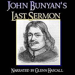 John Bunyan's Last Sermon
