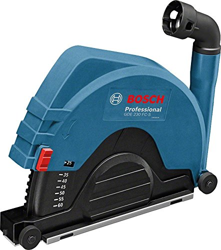 Bosch Professional 1600A003DL GDE 230 FC-S Dust Guard/Extractor for Large Angle Grinders
