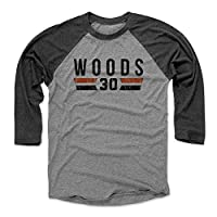 500 LEVEL's Ickey Woods Baseball Shirt - Vintage Cincinnati Football Fan Gear - Ickey Woods Font