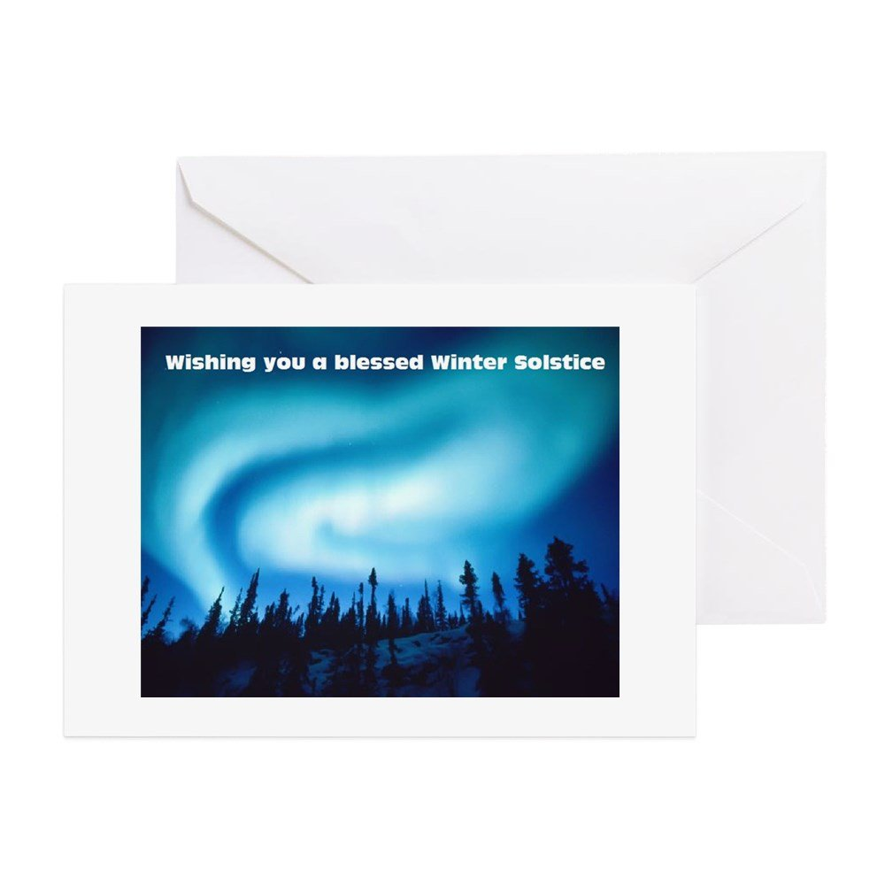 Amazon Cafepress Winter Solstice Greeting Card Note Card