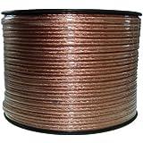 Cable del altavoz 100m 2x2,5mm² transparente