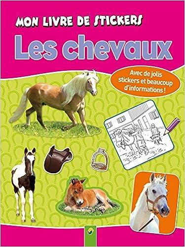 Livre De Stickers Et Livre A Colorier Chevaux Et Poneys
