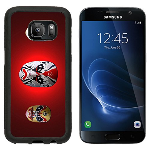 MSD Premium Samsung Galaxy S7 Aluminum Backplate Bumper Snap Case IMAGE ID: 11916911 mask of chinese traditional (Chinese Ancient Costume Drama)