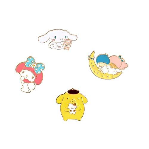 Amazon.com: 4pcs/set Kawaii conejo cachorro My Melody ...