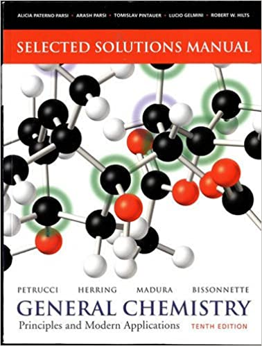 Selected solutions manual general chemistry principles and selected solutions manual general chemistry principles and modern applications 10th edition fandeluxe Gallery