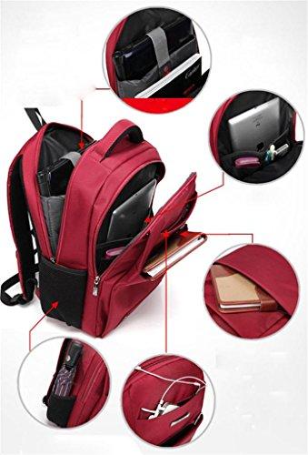 Fen Rucksack Herren Taschen Geschenke Laptop Taschen Business PCs Rucksäcke (schwarz, rot, blau, grau) blau blau schwarz
