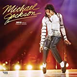 Michael Jackson 2019 12 x 12 Inch Monthly Square Wall Calendar with Foil Stamped Cover, Pop Music Singer Songwriter Artist Celebrity