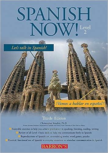 Amazon.com: Spanish Now! Level 2 (Barron's Foreign Language Guides ...