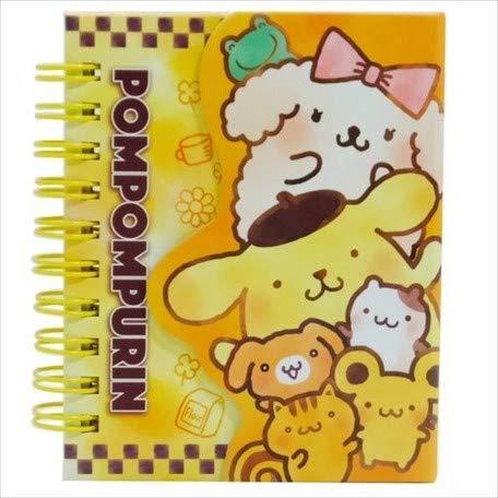 Mini Ring with Pomupomu Pudding Magnet memo/Fluffy Pattern/Pomupomu Pudding with Magnet Mini Ring memo/Fluffy Pattern ()