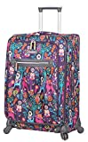 Lily Bloom Hard Shell Luggage Hardside Spinner Cute Suitcase 24in Deal (Small Image)