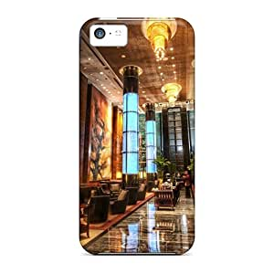 5c Scratch-proof Protection Cases Covers For Iphone/ Hot Gr Millenium Hotel In Beijing Hdr Phone Cases