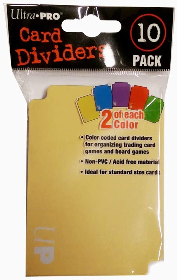 Ultra Pro - Card Dividers (10 Pack),84782