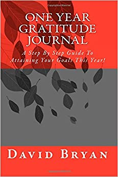 Book One Year Gratitude and Goals Journal