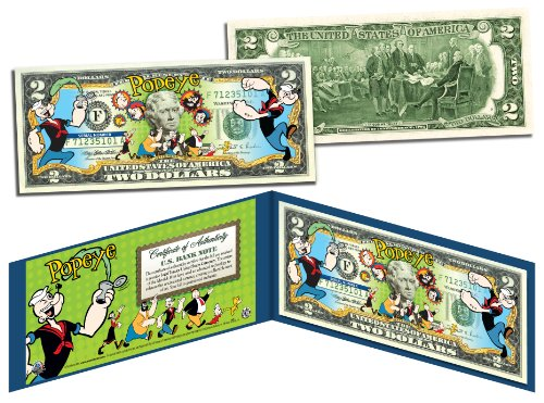 popeye-friends-genuine-legal-tender-us-2-bill-officially-licensed-w-folio