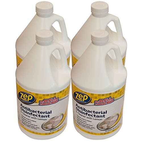 - ZEP 1-Gallon Anti-Bacterial Disinfectant Cleaner (Case of 4)