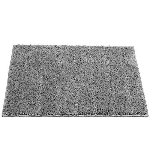 Indoor/Outdoor Area Rugs,U'Artlines Washable Stripe Design Door Mat for Garden Office, Kitchen Dining Living Hallway Bathroom Pet Entry Rugs with Non Slip Backing (17.7x25.6