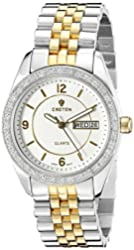CROTON Women's CN207279TTCR Heritage Analog Display Quartz Two Tone Watch