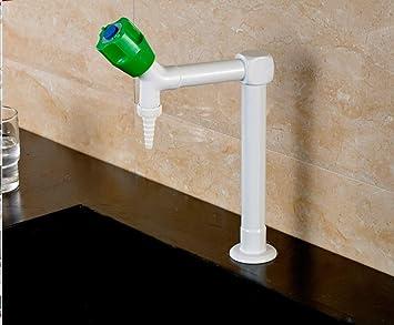 ZHAOSHOP Fregadero de faucet para laboratorio, laboratorio de pruebas, campana extractora de humos, puerto único, fregadero de cobre para laboratorio: Amazon.es: Bricolaje y herramientas