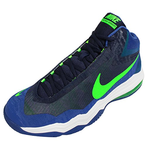 Nike Mens Air Max Audacity Basketskor 11,5 M Oss Mitten Marin / Grön Strk-gym Royal Vita