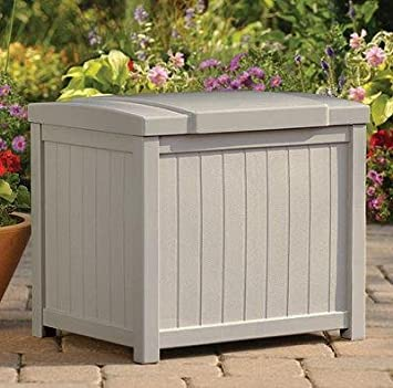Suncast Premium, Durable Resin Small Deck Storage Box