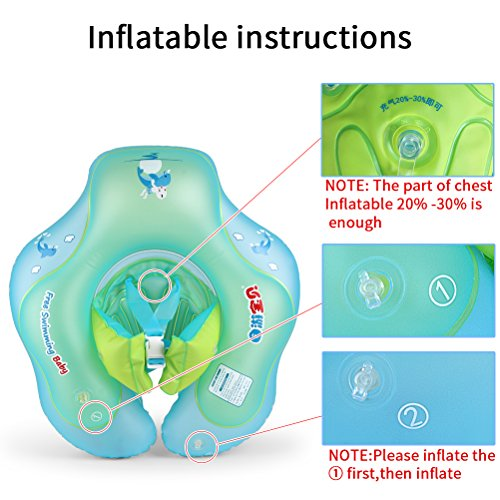 Free Swimming Baby Inflatable Baby Underarm Swimming Ring Baby Floats for Swimming Pool