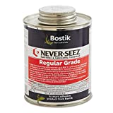 Never-Seez NSBT-16 Silver Gray Regular Grade Anti-Seize Compound, -297 Degree F Lower Temperature Rating to 1800 Degree F Upper Temperature Rating, 1 lb. Brush Top Can