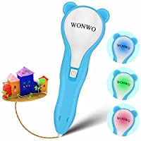 Wonwo 3D Pen 3D Printing Pen with Low Temperature for Kids and Adults 3D Drawing Pen for Doodling and Painting Arts and Crafts with PCL Filaments included