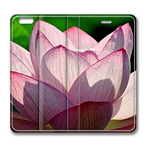 iPhone 6 Plus,Brain114 iPhone 6 Plus [5.5] case,iPhone 6 Plus leahter,leather case for iPhone 6 Plus,Fashion Book Style Design Wallet leather Case Cover for iPhone 6 Plus 5.5 inch Lotus Flower