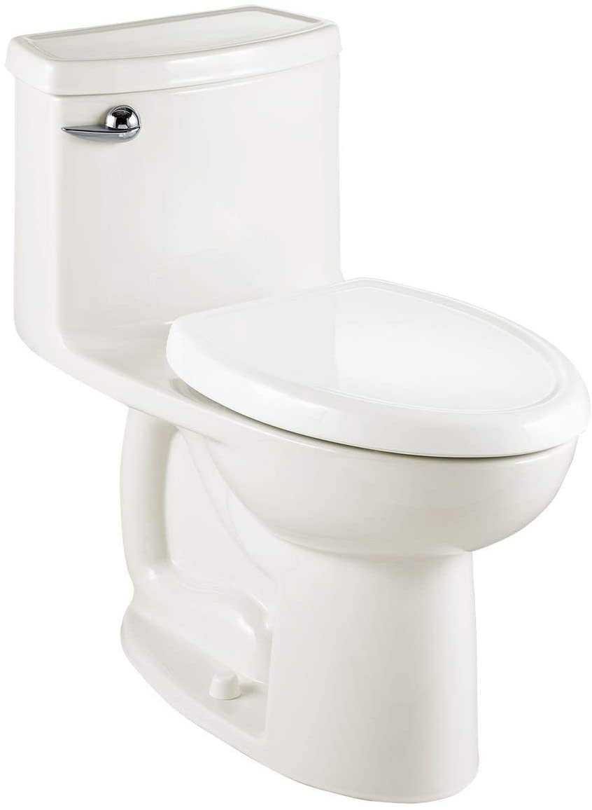 American Standard 2403128.020 Compact Cadet 3-FloWise Tall Height 1-Piece 1.28 GPF Single Flush Elongated Toilet with Seat, White - -